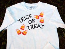 halloween crafts trick or treat shirt
