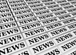 NEWS by Z3ra7ul3x News-3D perspective in black ink.