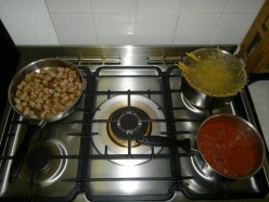 Cook all at once.