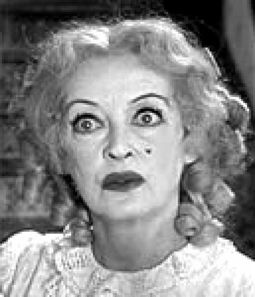 Bette Davis in Baby Jane