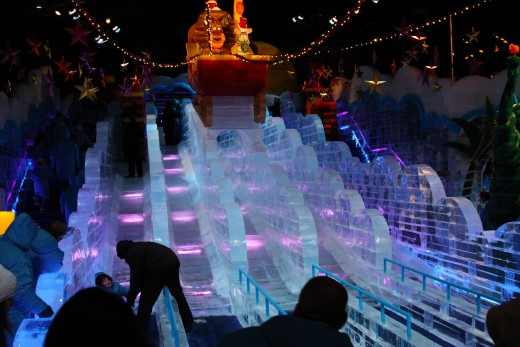 ICE slide for children and adults
