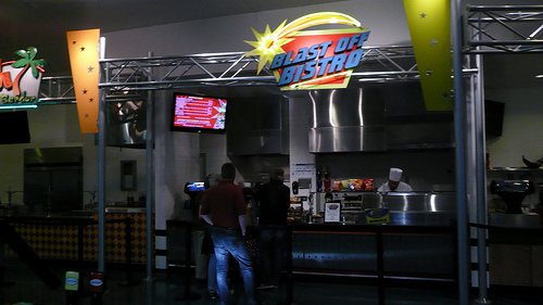 Space Age food court, Johnson Space Center at Houston