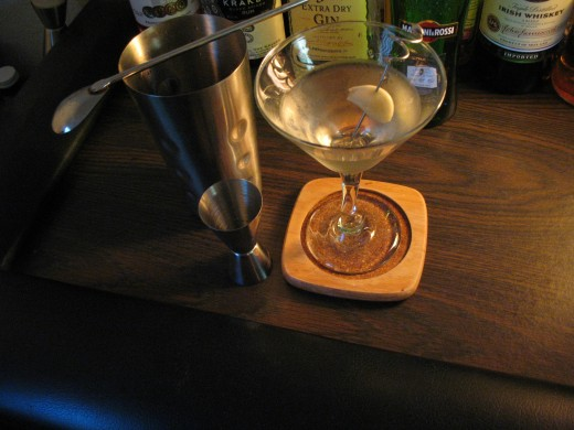 "The Classic Martini With a ""Twist"""