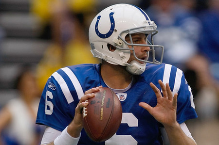 Dan Orlovsky gets the nod for the Colts this Sunday and will have his hands full with the Patriots