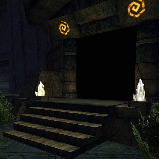 The entrance to the crafting hall in House Kundarak.