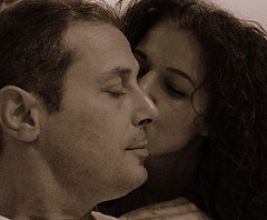 Tender Moment from You C@n't C@tch Me Source: flickr.com