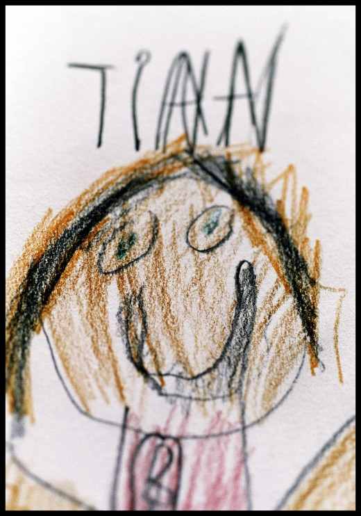 Drawing by a seven year old