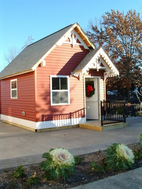 Visit Santa in his house on the Mispillion Riverwalk.