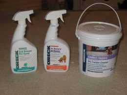 Carpet Cleaning Supplies from Oreck