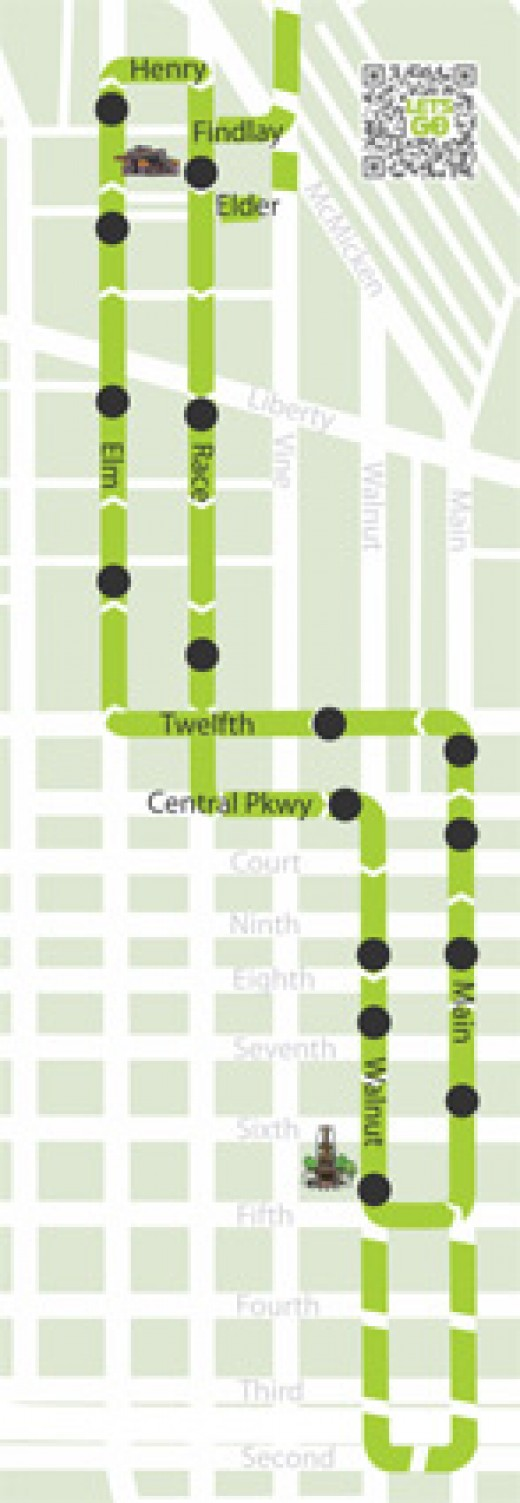 Streetcar starter line map