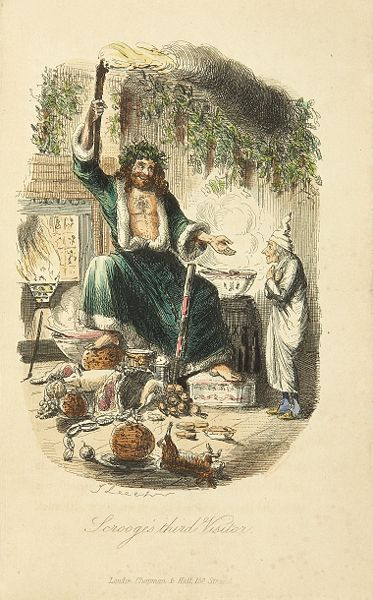 THE MOST FAMOUS CHRISTMAS BOOK -  'A CHRISTMAS CAROL'.