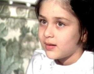Cute childhood photo of Kareena Kapoor