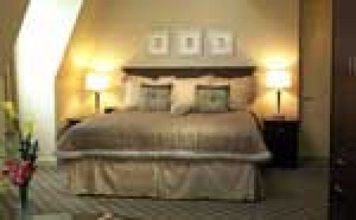 King Size Bed, Penthouse Suite