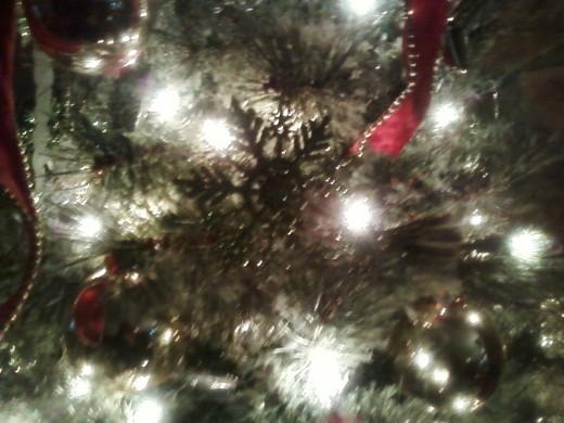 Close up of my Christmas Tree