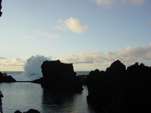 Porto Moniz and the ocean pool