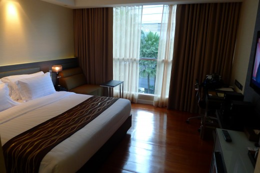 A superior room at the Amora Neoluxe Hotel on Sukhumvit Soi 31