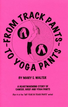 Part 4:From Track Pants To Yoga Pants. Cover of the comic book.