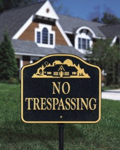 If a Habitual Trespasser / Someone Gets Hurt on Your Property, You are Liable and other Unfair Real Estate Laws