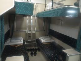 Built-in Train Berths...
