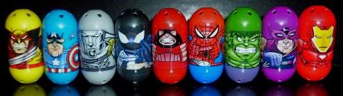 Wolverine #44, Captain America #3, Silver Savage #56, Spider-Man #55, Juggernaut #39, Spider-Man #1, Hulk #2, Hawkeye #34, Iron Man #61