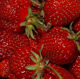 Make sure your strawberries are not too ripe.  It may cause your jam to be runny.