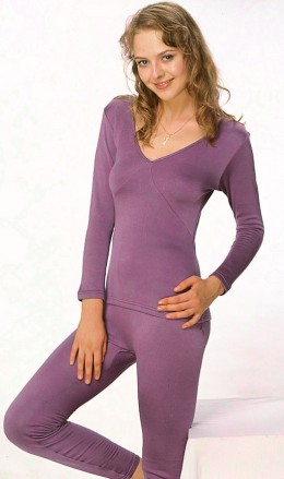 Thermal Long Johns and Vest in Silk