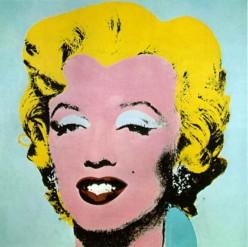 """Gold Marilyn"""