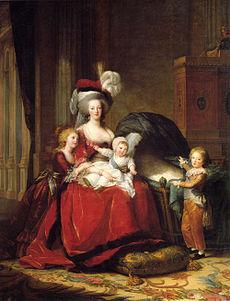 Marie Antoinette and Children