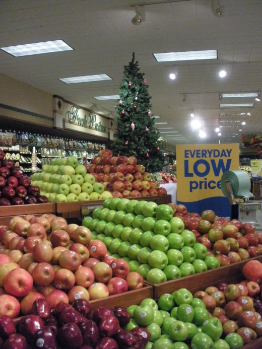 You can save money at the grocery store and buy fresh and healthy produce.