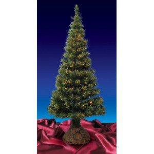 6 Foot Pre-Lit Fiber Optic Artificial Christmas Tree