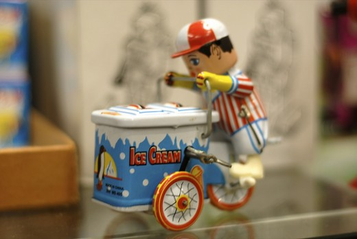 All toys could have evil potential...enter...ICESCREAM MAN