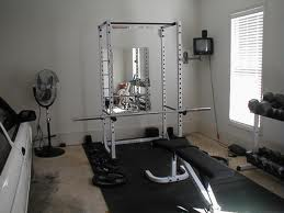 Another home gym example.