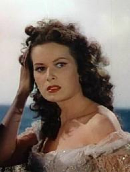 Beautiful, red-haired and Irish, Maureen O'Hara