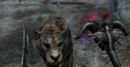 Skyrim Using Skull of Corruption - Giving the Sabretooth Tiger Nightmares