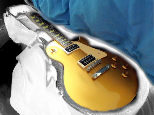 "- Within a few short years after the mild, innocently  rebellious birth of uninhibited ""Rock n' Roll"", one of her inseparable lifelong companions was born - The Gibson Les Paul - Then came the ""Classic"", to endure  only to be called back home -"