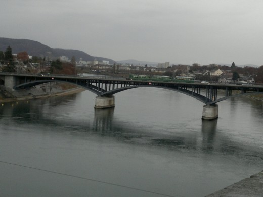 Basel River (Rhein)