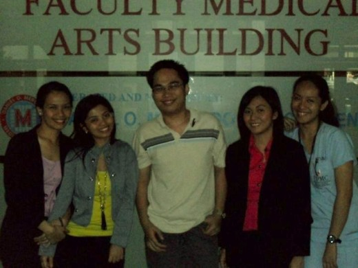 The Triage Department with fellow nurses and Dr. Paul Michael Hernandez.