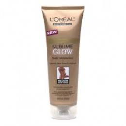 Loreal Sublime Glow is a great all over moisturizer with a gradual tanner that does not turn your skin orange.