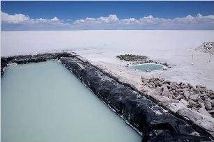 Mining of Lithium