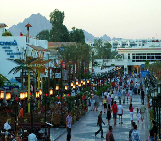 Shopping at Sharm El Sheikh