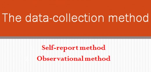 The data-collection method