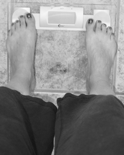 The scale seems to be a necessary evil, but it is a useful tool to measure your success.