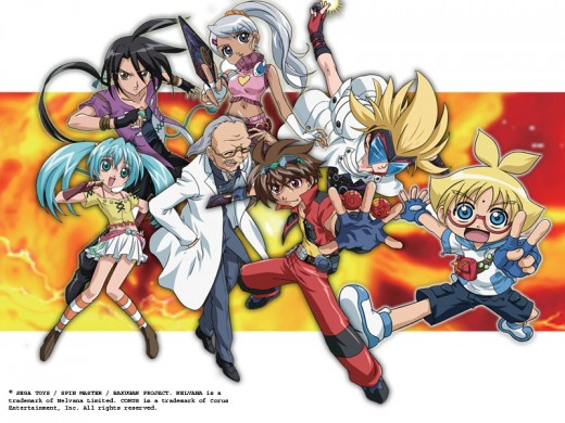 Bakugan Characters - Group2