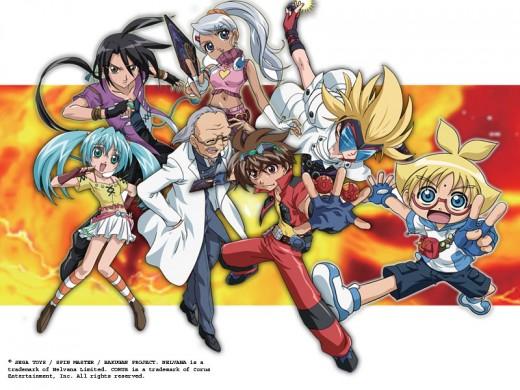 Bakugan Characters - Group2