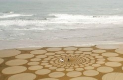 Sand Art of India