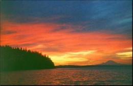 Sunrise Over Oak Bay & Mt. Ranier