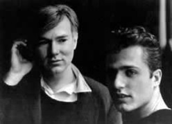 Andy and Gerard Malanga in 1963