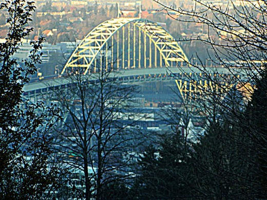Freemont Bridge, Portland, Oregon