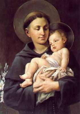 St. Anthony with Infant Jesus