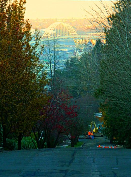 Street Scene, Portland Heights